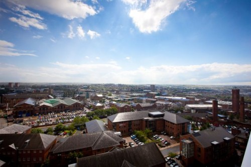 View from Sky Lounge City Inn Leeds (c) Jonty Wilde