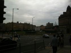 A glmpse of work in progress on Bradford Urban Garden