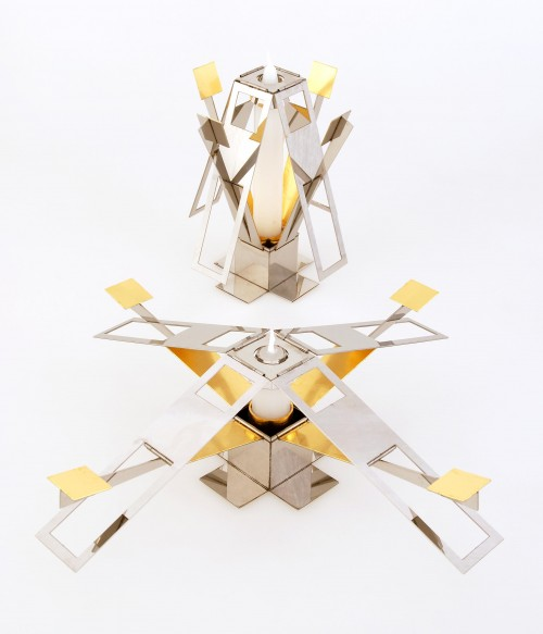 Andrew Sutherland's Kinetic Candle Holder