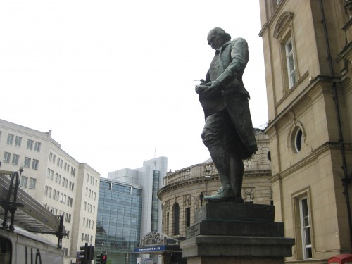 City Square statue of James Watt