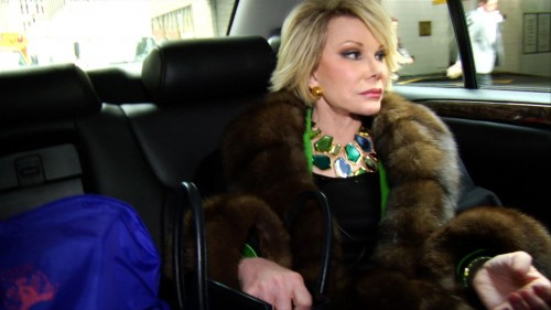 Joan Rivers stars in A Piece of Work