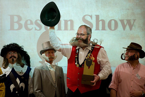 the world beard and moustache championships 2011