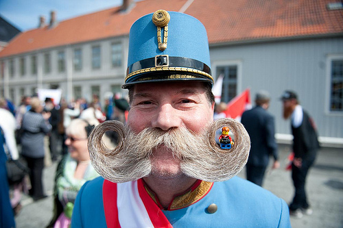 Lego Tourist does the World Beard and Moustache Championships