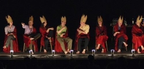 'Forced Entertainment', one of the shows at this month's Compass Festival