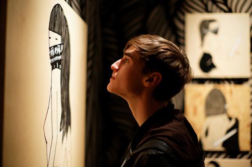 Kid Acne Exhibition in 2011