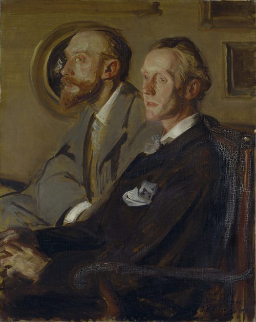 Jacques-Emile Blanch, Portraits of Charles Shannon and Charles Ricketts 1904 © Tate London 2011