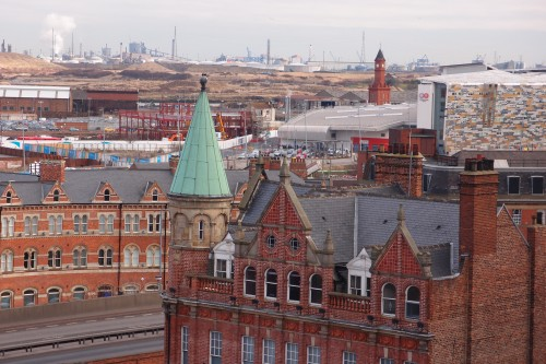 'View towards Middlehaven from Dundas House' Photo Credit Mr Michael Chitty esq