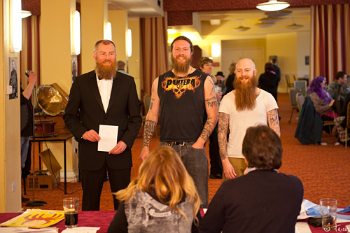 Beards, Beer & Louis Barabbas @ Scarborough Spa, 04-march-2012
