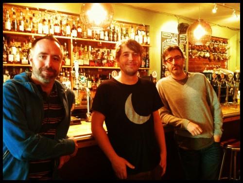 L-R: Christian, Matt, John.
