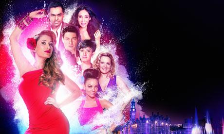 The poster for Bollywood Carmen