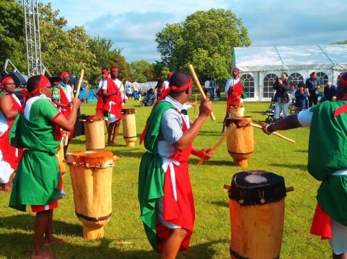 Abatimbo Burundi Drummers at Beeston Festival