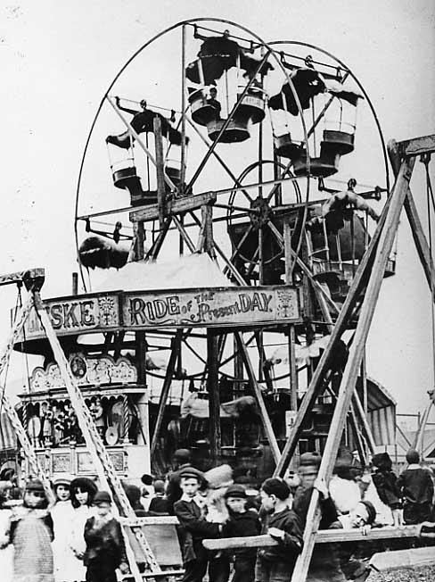 Feast Funfair 1900s