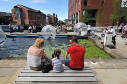 Leeds Waterfront Festival 2011, Granary Wharf (c) Roger Moody