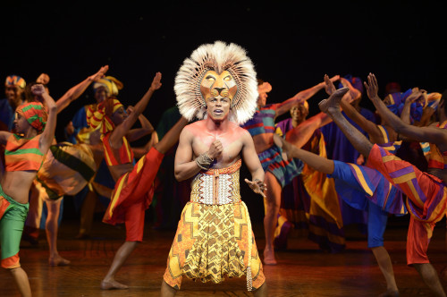 Simba - Nicholas Nkuna and the Original UK touring company