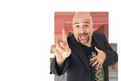 Comedian Omid Djalili