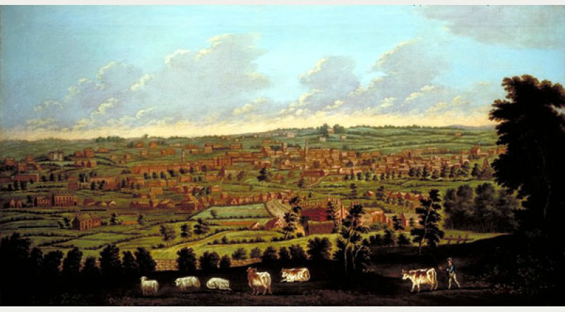 View of Leeds From Beeston Hill