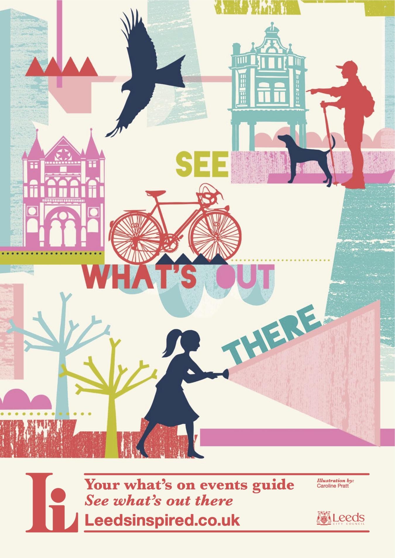 Caroline Pratt - Leeds Inspired poster
