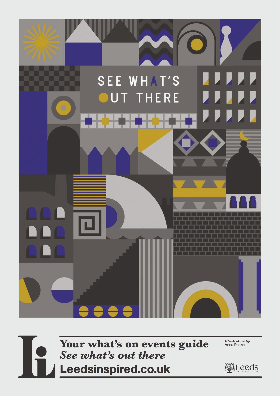 Anna Peaker Leeds Inspired poster