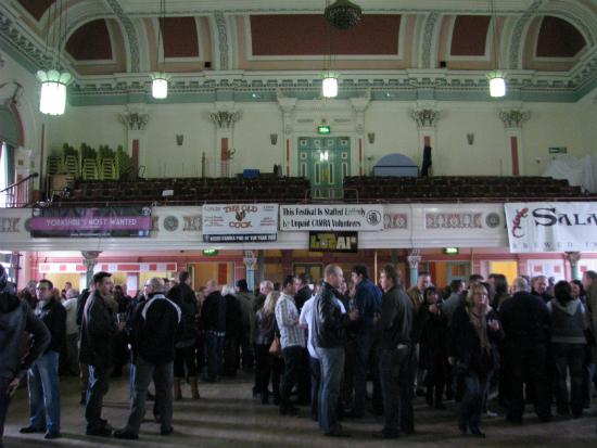 Victoria Hall beerfest Saltaire 2