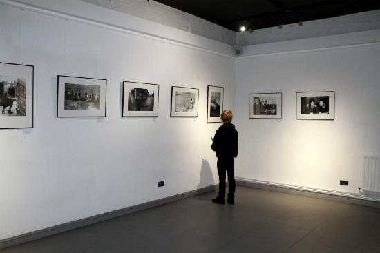Kieran at White Cloth Gallery