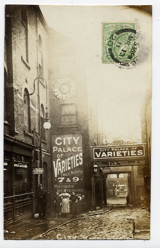 City Varieties circa 1911.Credit postcard donated by Maurice Friedman – British Music Hall Society