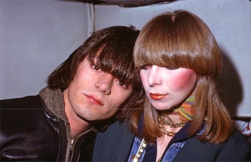 Dee Dee Ramone (The Ramones) & Connie Gripp / Max's Kansas City's kitchen, 1975