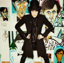 An exhibition of original watercolours by Noel Fielding will be held at Harrogate Theatre's Circle Bar on 10th & 11th October
