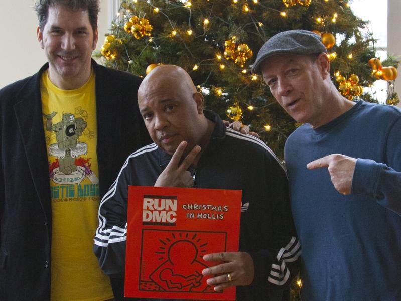 Christmas Round At Ours: Mitchell Kezin, Rev Joseph 'Run DMC' Simmons, Bill Adler