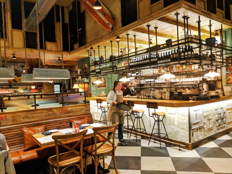 Limeyard offers a new experience in shopping centre food
