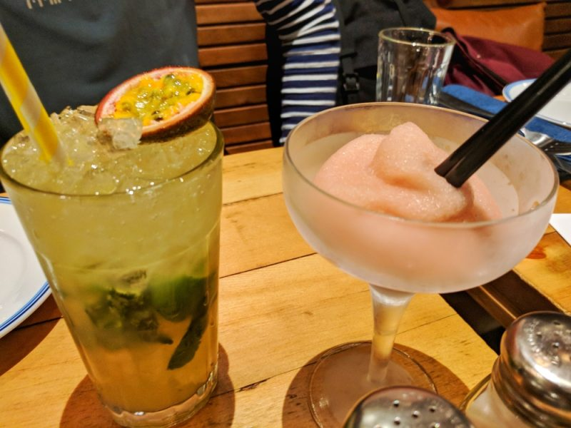 Some of the cocktails on offer at Limeyard