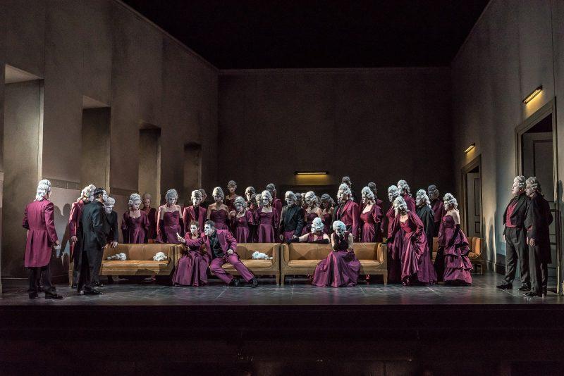 Opera North's production of Verdi's Un ballo in maschera. (Photo: Clive Barda)