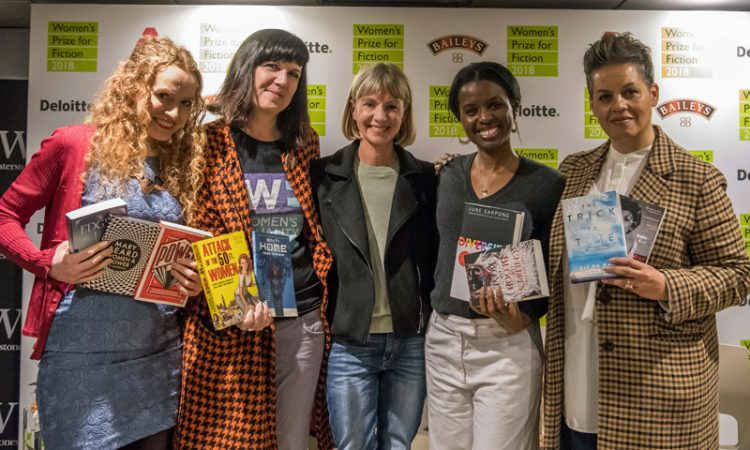 Left to right: Kate Williams, Catherine Meyer, Kate Mosse, June Sapong and Kit de Waal. (Photo courtesy of Baileys Book Bar)