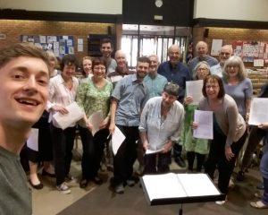 Cantabile Choir and Chris Schlecte-Bond