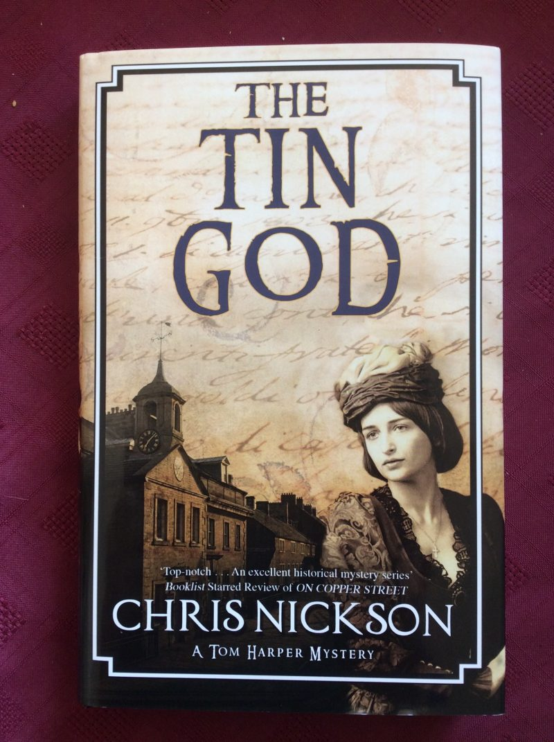 The Tin God, the latest novel from Chris Nickson
