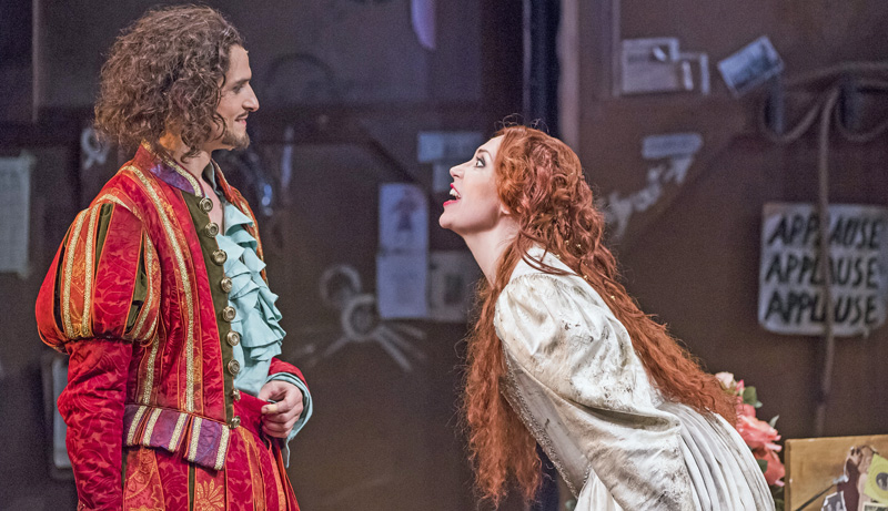 Kiss Me, Kate | Quirijn de Lang as Petruchio and Stephanie Corley as Kate (Photo: Tristram Kenton)