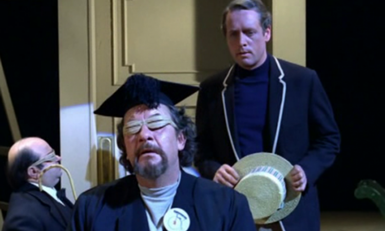 Angelo Muscat, Leo McKern and Patrick McGoohan