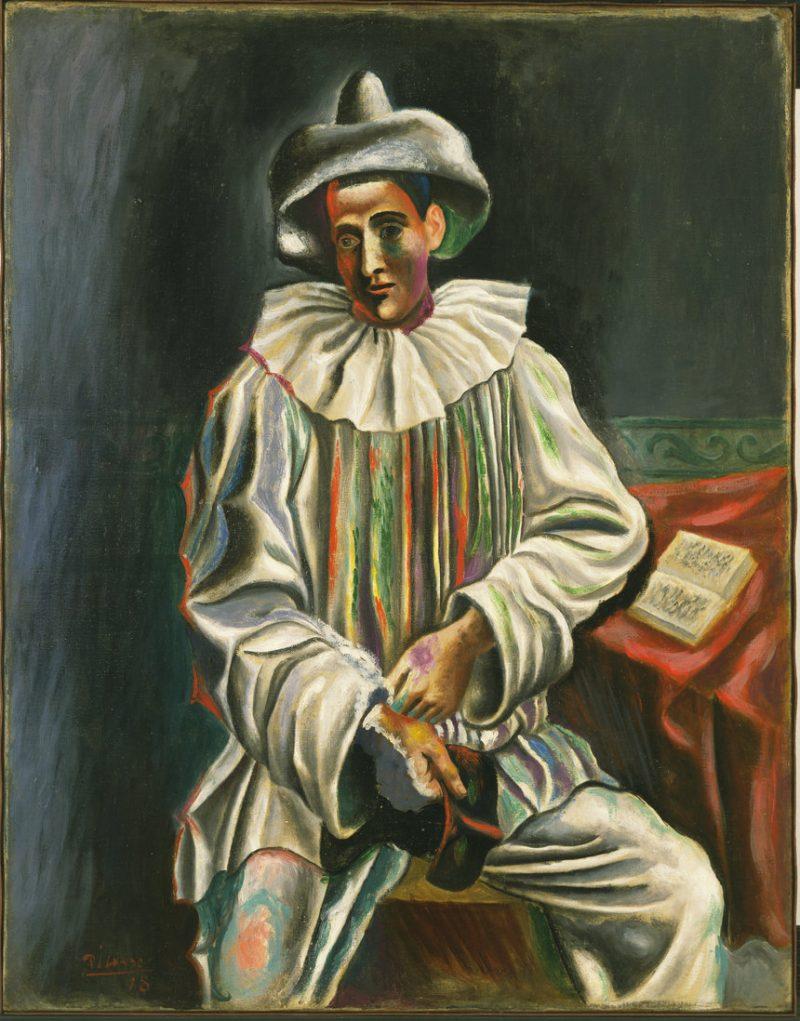 Pablo Picasso - Pierrot (1918)