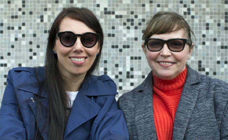 Esther Johnson (left) and Leigh Bird (Photo: Philip Bird)