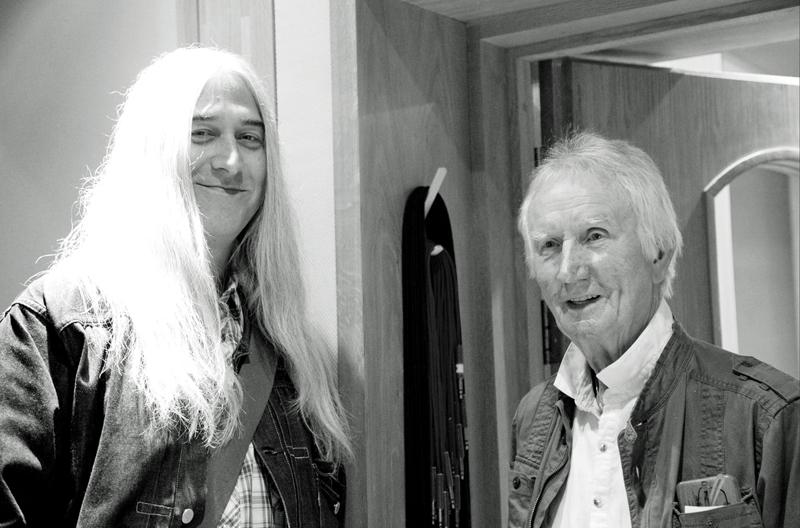 Shawn Lee (left) & Alan 'The Hawk' Hawkshaw (Courtesy of Hut29)