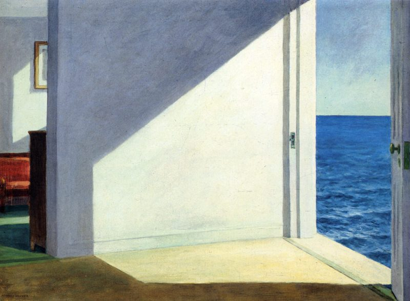 Edward Hopper - Rooms By the Sea, 1951 (edwardhopper.net)