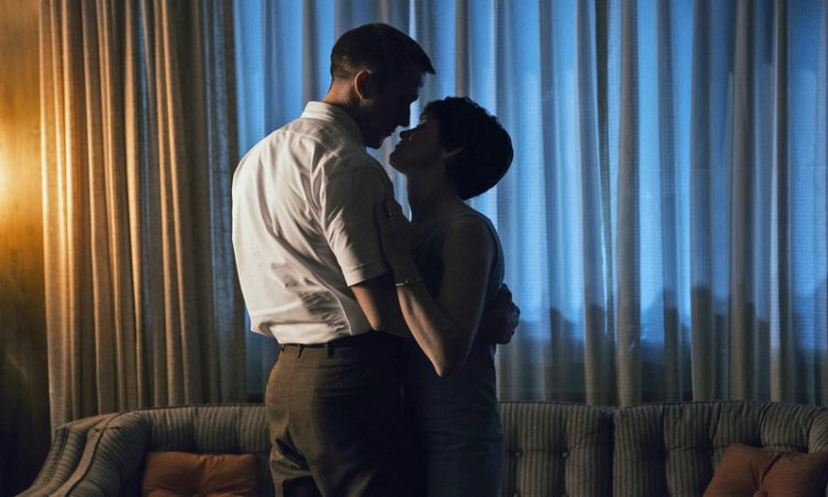 Ryan Gosling and Clare Foy