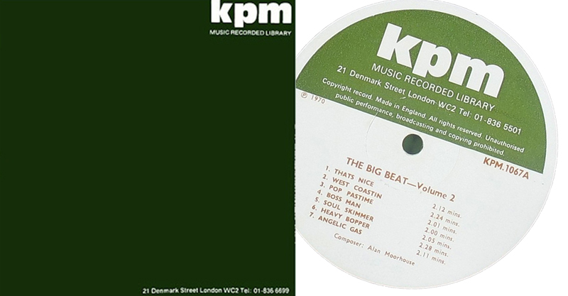 KPM sleeve and label
