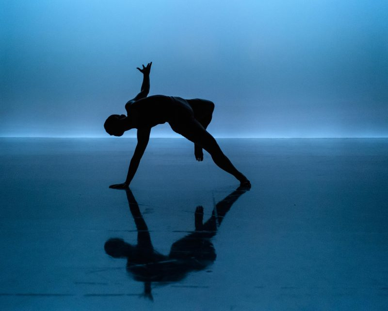 NEW GROUND: At The End choreographed and performed by Shannon Dray. Photograph © Jane Hobson.