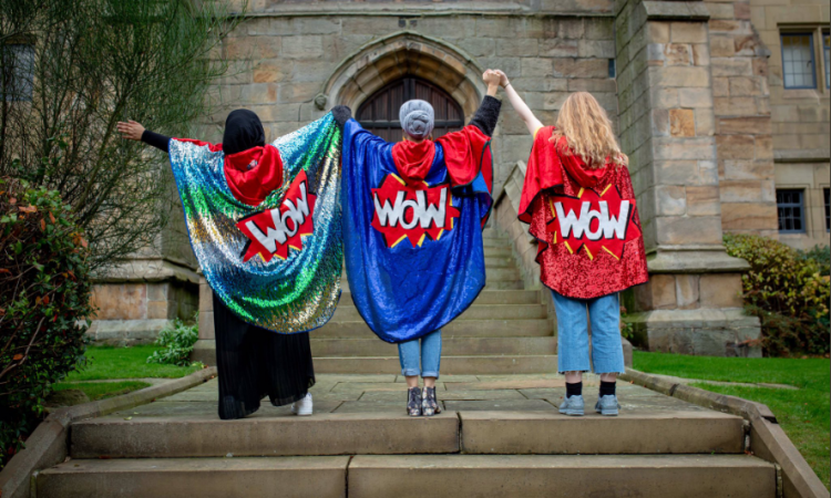 WOWsters join hands to celebrate WOW Bradford 2018