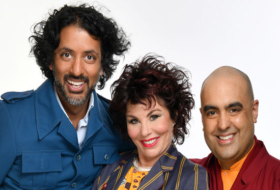 Ash Ranpura, Ruby Wax and Gelong Thubten feature in comedy show, How to Be Human.