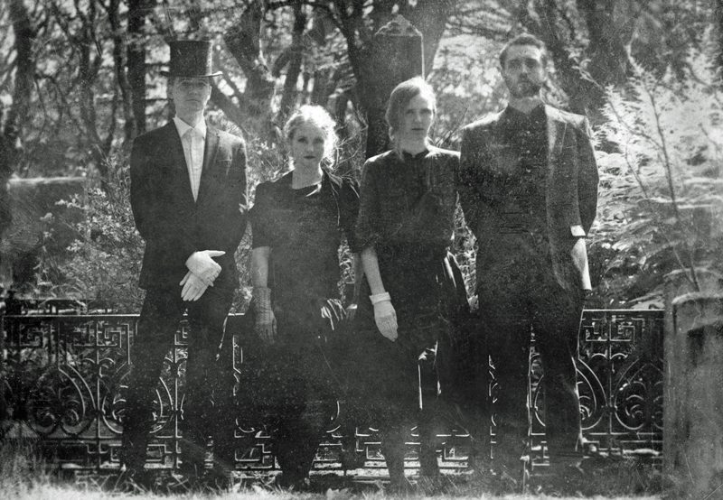 amiina (from left) Kippi, Maria, Sólrún and Magnus