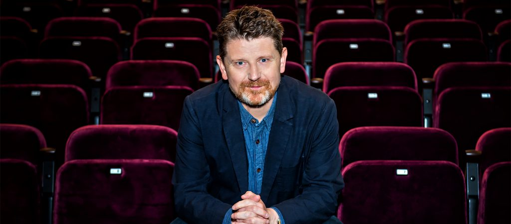Actor and director Reece Dinsdale