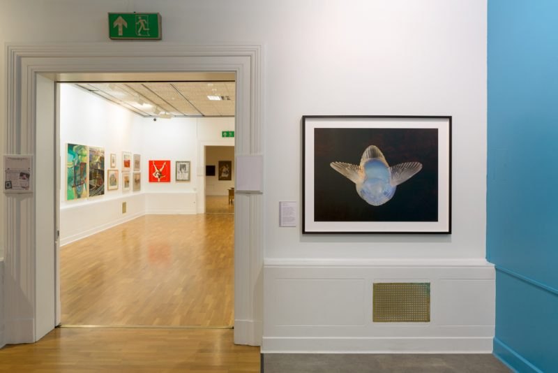 She Took to Flight, Huddersfield Art Gallery (©Olivia Hemingway)