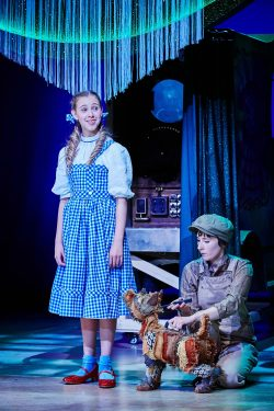 Dorothy and Toto in The Wizard of Oz