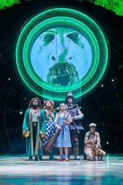Main cast in The Wizard of Oz